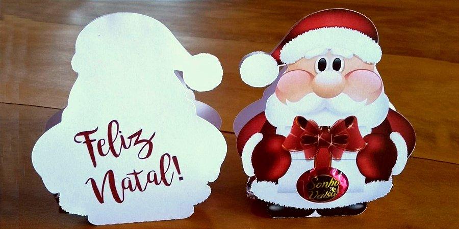 Porta bombom Papai Noel
