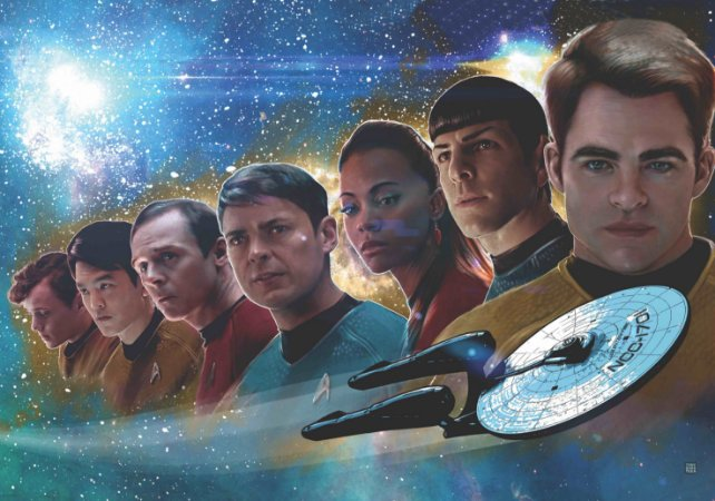 Painel TNT Star Trek