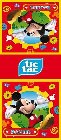 Adesivo personalizado para TicTac A Casa do Mickey Mouse