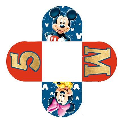 Caixeta para Doces personalizada A Casa do Mickey Mouse