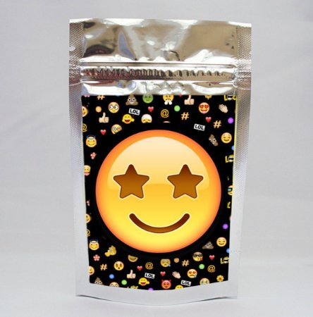 Saco metalizado Emoji
