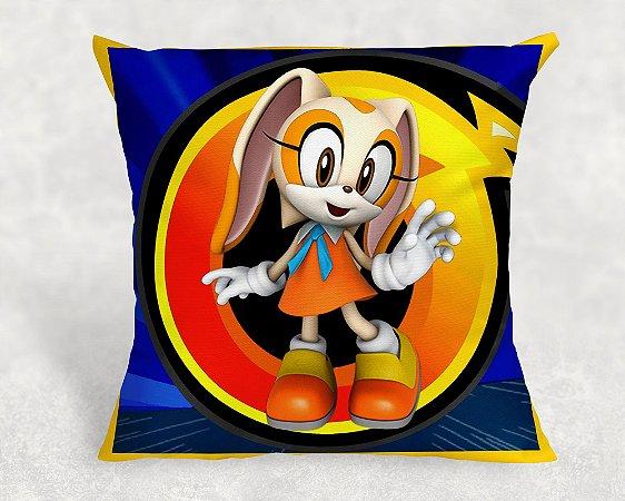 Almofada Personalizada para festa Sonic 006