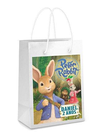 Adesivo para sacolinha Peter Rabbit