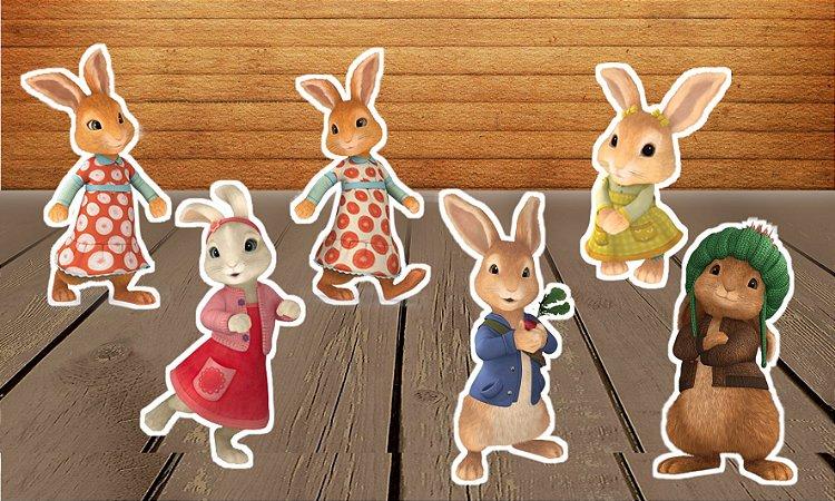 Totens de Mesa Peter Rabbit