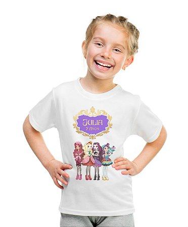 Camiseta Infantil Ever After High