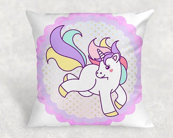 Almofada Personalizada para festa Unicornio 005