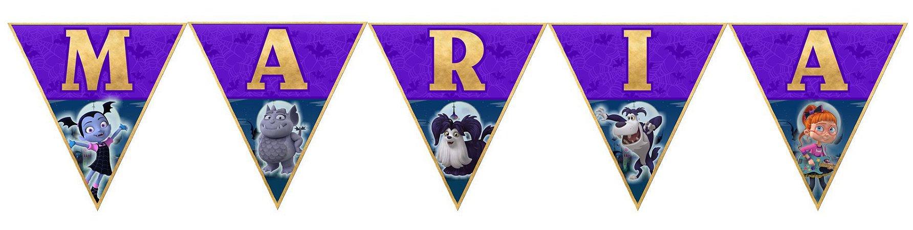 Bandeirinha Personalizada Vampirina