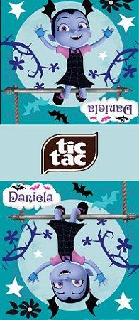 Adesivo personalizado para TicTac Vampirina