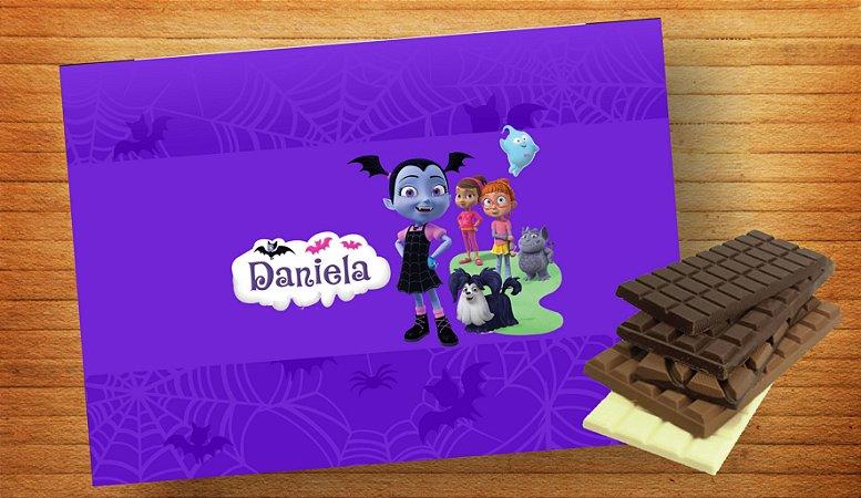 Adesivo para barra de chocolate Vampirina