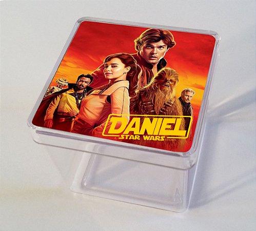 Adesivo caixinha acrílica 7x7 Han Solo: Uma História Star Wars