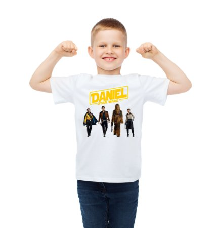 Camiseta Infantil Han Solo: Uma História Star Wars