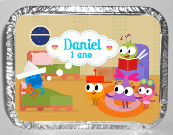 Marmitinha personalizada Baby TV Choopies