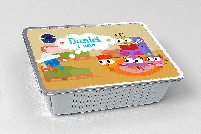 Tampa para marmitinha personalizada Baby TV Choopies
