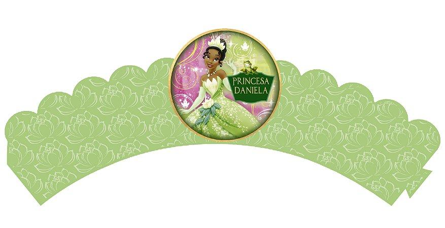 Pacote com 6 Wrappers Princesa Tiana - Princesa e o Sapo