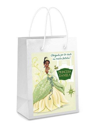 Adesivo para sacolinha Princesa Tiana - Princesa e o Sapo