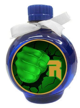 Adesivo personalizado para água Ouro Vingadores