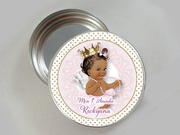 Embalagem com 20 adesivos Anjinha Princesa