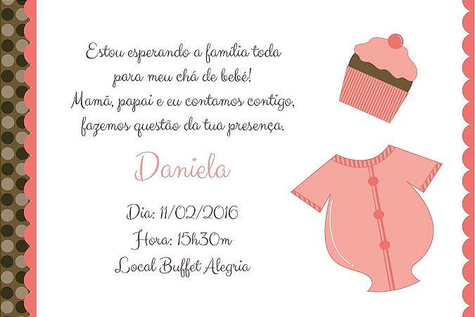 Convite digital personalizado para Chá de Bebê 002