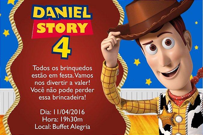 Convite digital personalizado Toy Story 004