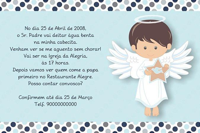 Convite digital personalizado Batizado 021