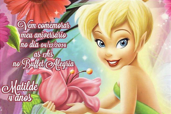 Convite digital personalizado Sininho 021