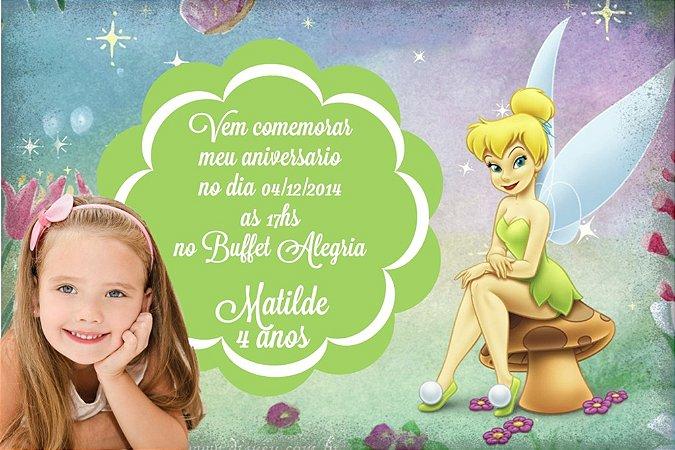 Convite digital personalizado Sininho com foto 003