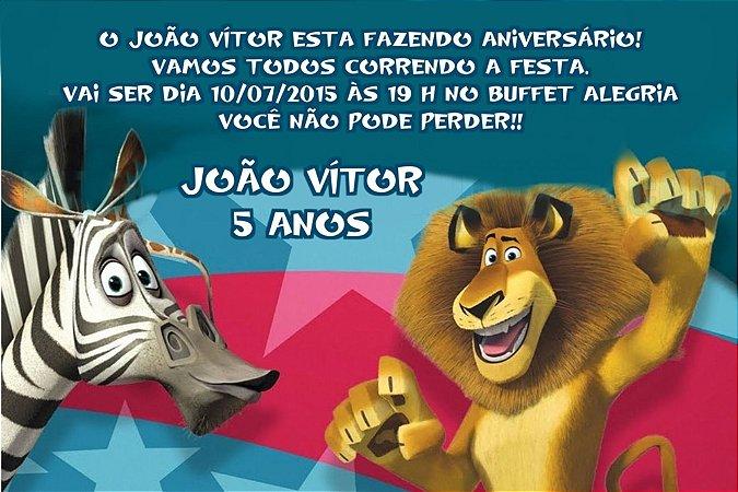 Convite digital personalizado Madagáscar 014