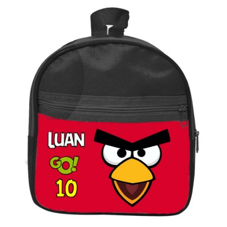 Mochila personalizada Angry Birds
