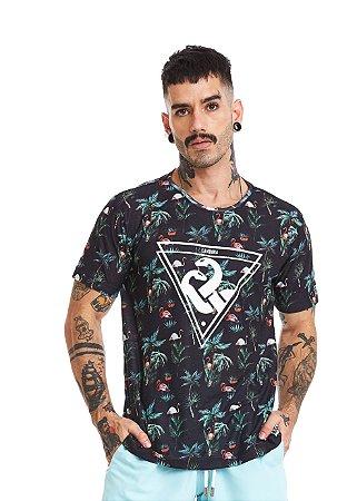 Camiseta Estampada - Flamingoz