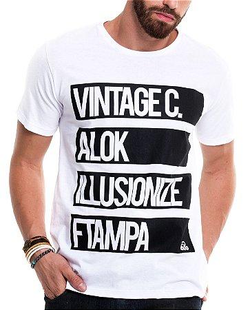 Camiseta de algodão - Top 4 Djs