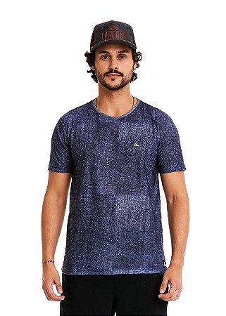 Camiseta Estampada - Fake Jeans