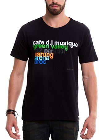 Camiseta de algodão - Brazilian Clubs
