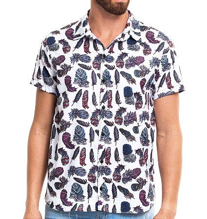 Camisa Estampada - Feather