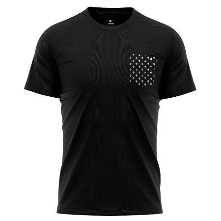 Camiseta Bolso Estampado - Death