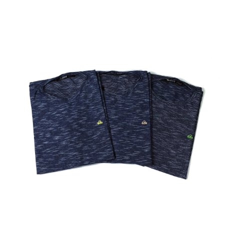 Conjunto 3 Camisetas Ultra-Slim - Bordado