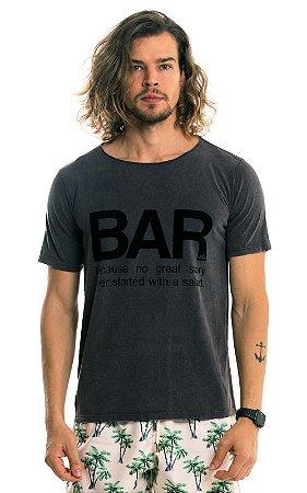 Camiseta Estampada Algodão 30.1 LaVíbora - Bar