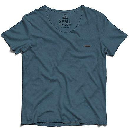 Camiseta Tingida Básica Algodão 30.1 LaVíbora - Petroleo