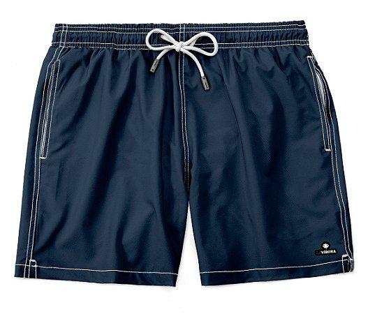 Shorts Praia Tactel Liso LaVíbora - Azul