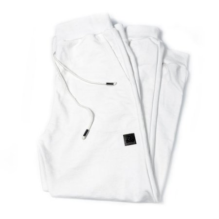 Calça Moletom Modelo Jogger LaVíbora Comfy - Branco Neve
