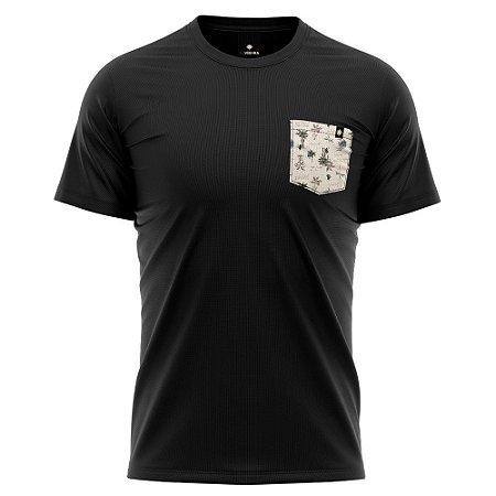Camiseta Bolso Estampado - Litoral
