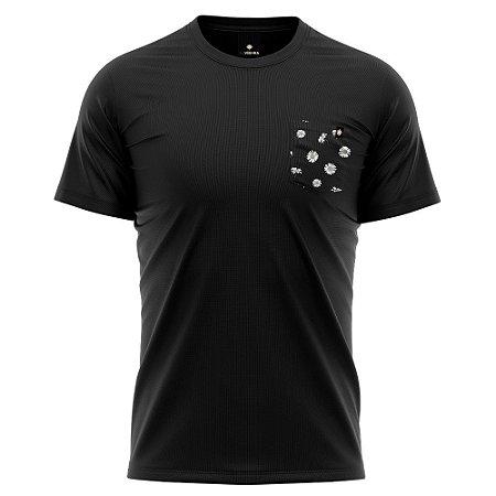 Camiseta Bolso Estampado - Daisy