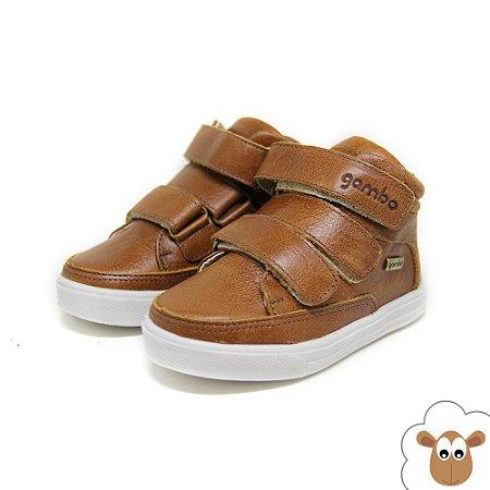 Bota Infantil - Gambo - Caramelo - Velcro