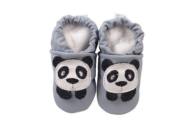Pantufa Infantil Catz Nicky Panda Azul claro