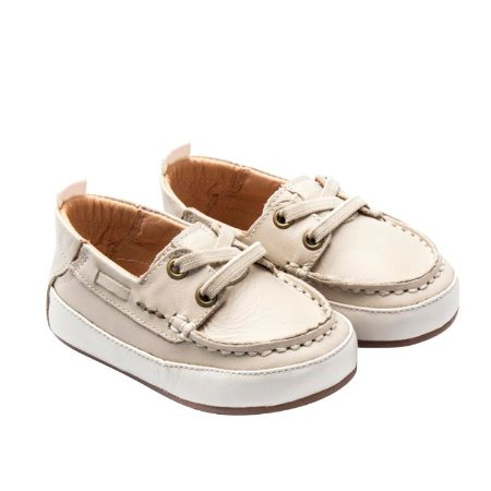 Mocassim infantil Sheep Shoes by Gambo Off White