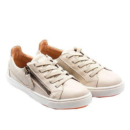 Tênis infantil Sheep Shoes by Gambo Off White Cadarço elástico Kids