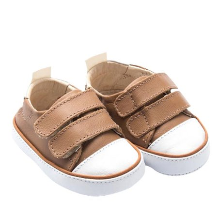 Tênis Infantil Sheep Shoes by Gambo Doce de leite Newborn