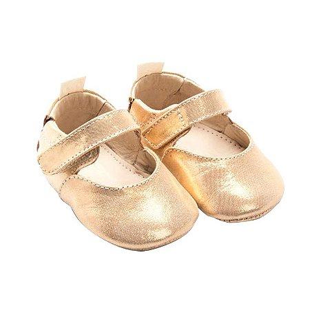 Sapatilha Infantil Sheep Shoes by Gambo Ouro (dourado) Newborn