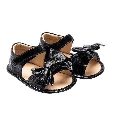Sandália infantil Sheep Shoes by Gambo Verniz Preto