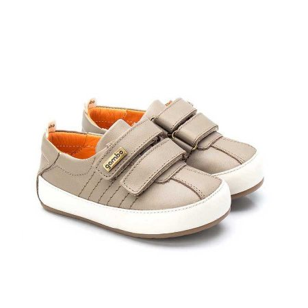 Tênis infantil Sheep Shoes by Gambo Taupe