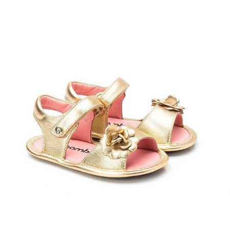 Sandália Infantil Sheep Shoes by Gambo Ouro Flor